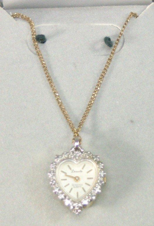 467: Ladies Armitron Deauville Watch Pendant