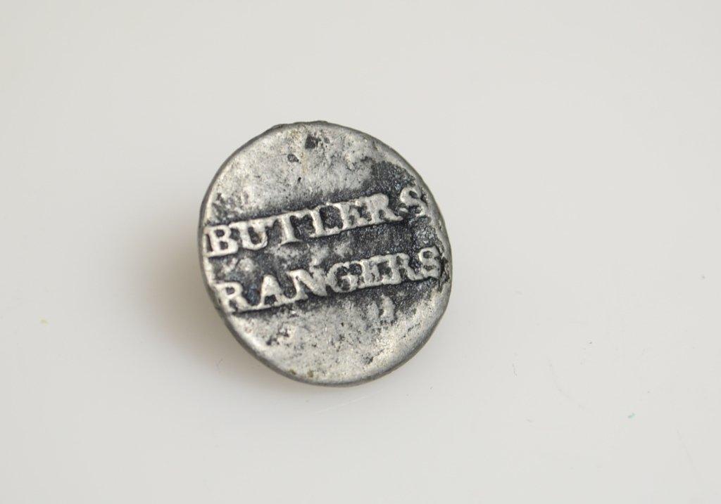 175: American Revolution Butler's Rangers Button 1777