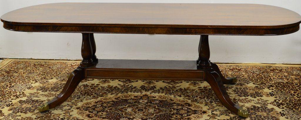 Regency Style Dining Table Schmieg and Kotzian