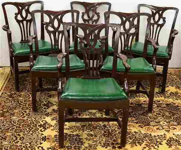 Lot of 6 George III Style Armchairs