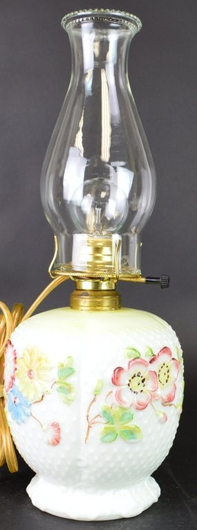 Oil Lamp With Hurricane