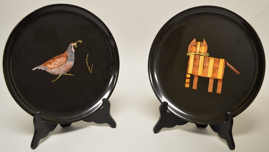 Couroc Plate Lot