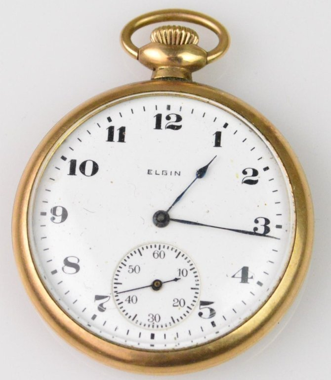 Elgin Gold Filled Pocketwatch