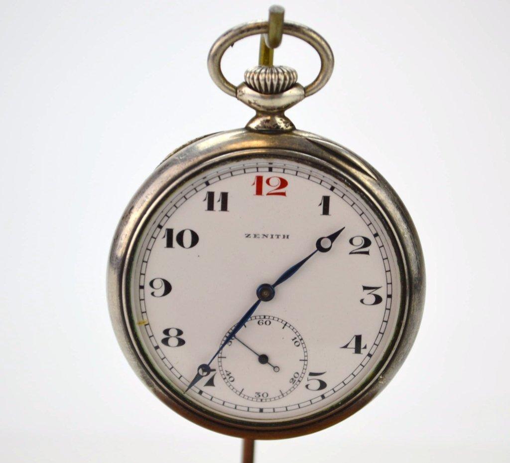 Zenith Grand Prix 1900 Silver Pocketwatch