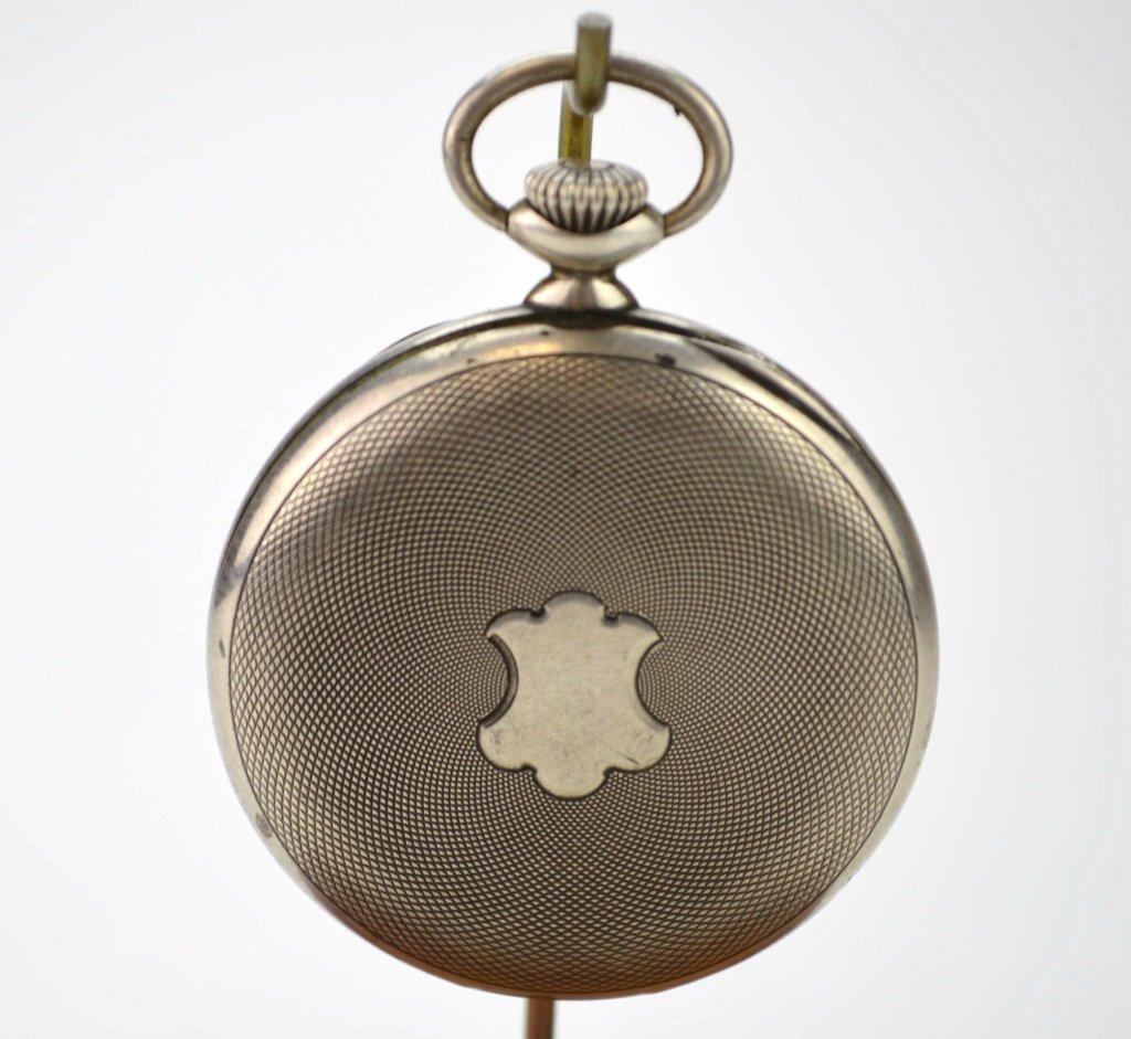 Zenith Grand Prix 1900 Silver Pocketwatch - 2