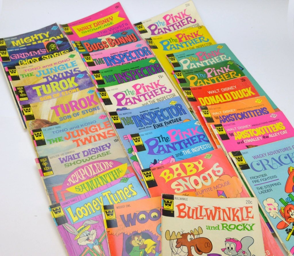 Whitman Gold Key Comic Book Grouping