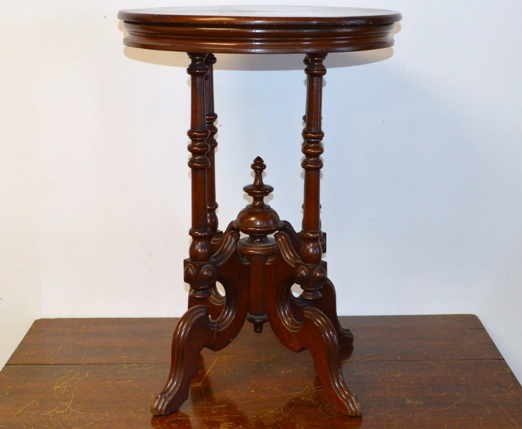 Round Victorian Table
