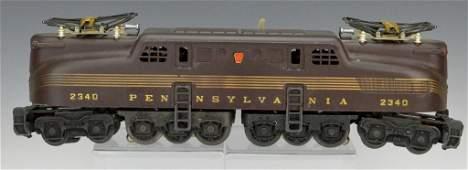 Lionel No.2340 Pennsylvania Tuscan 5 Stripe GG-1 OB