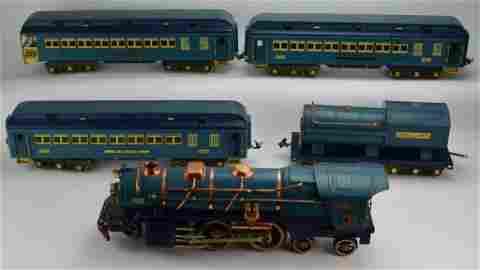 Lionel 400E Blue Comet Passenger Set OBS
