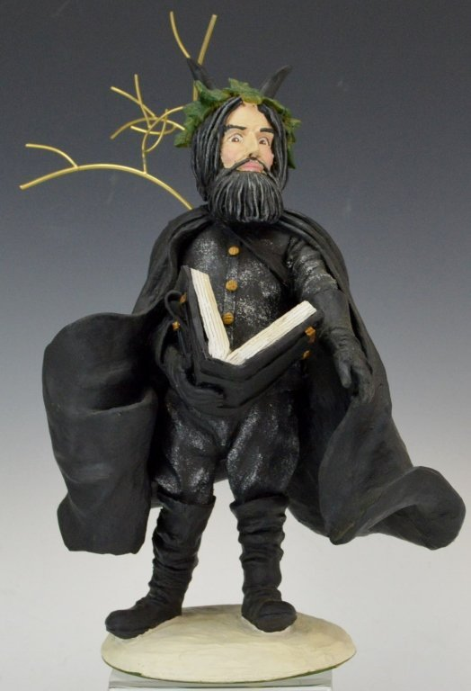 Duncan Royale Black Peter Santa Figure