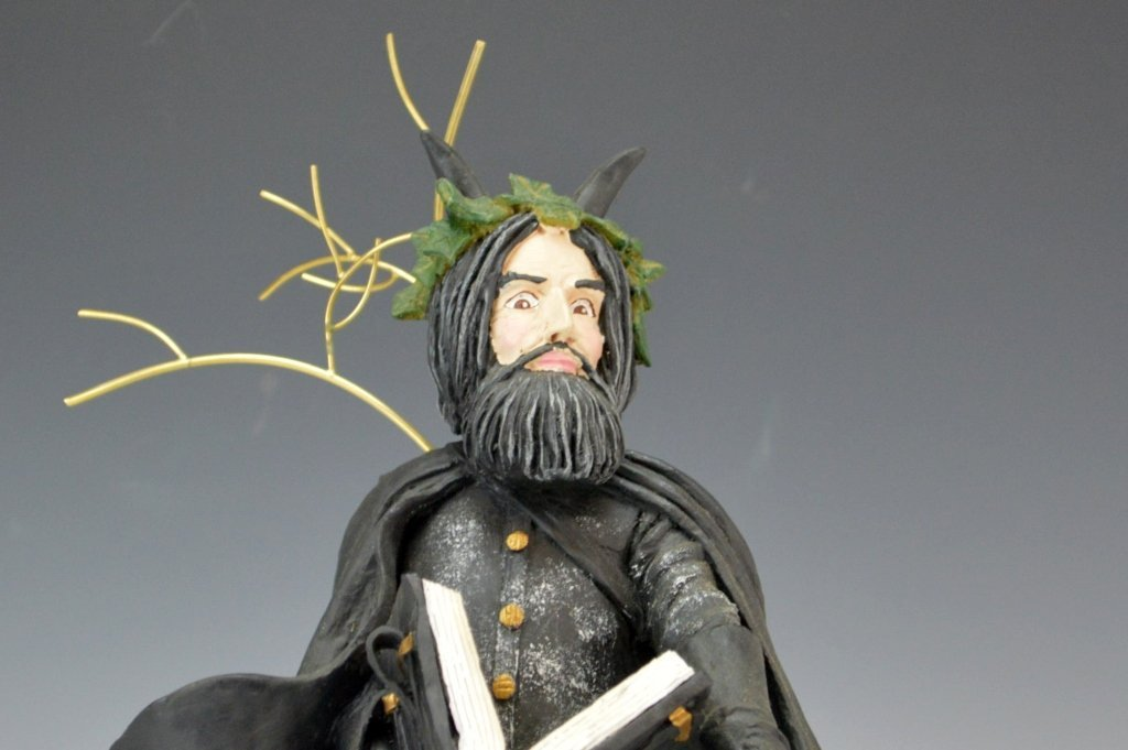 Duncan Royale Black Peter Santa Figure - 2