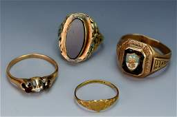 10k Gold Ring Grouping