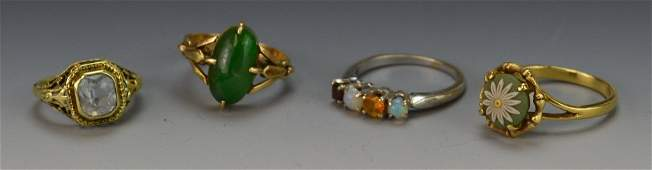 14k Gold Ring Grouping