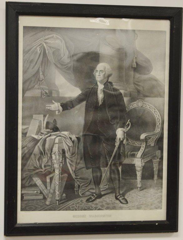 George Washingon Engraving