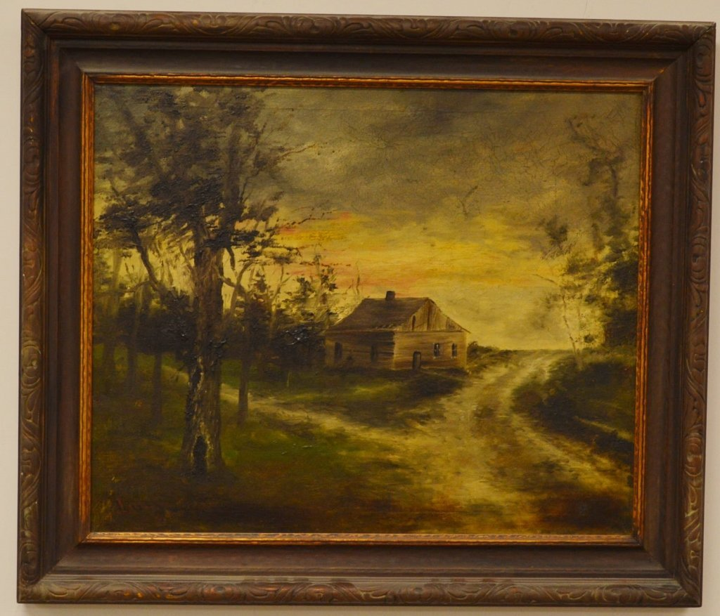 Lutz Oil on Canvas