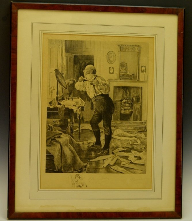 W Dendy Sadler Engraving