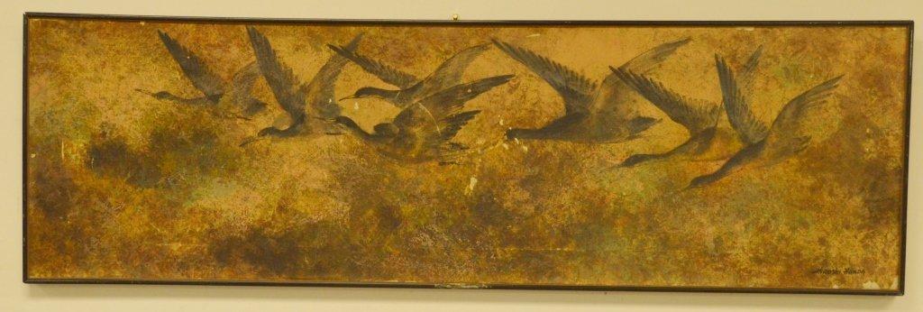 Hiroshi Honda Oil on Canvas