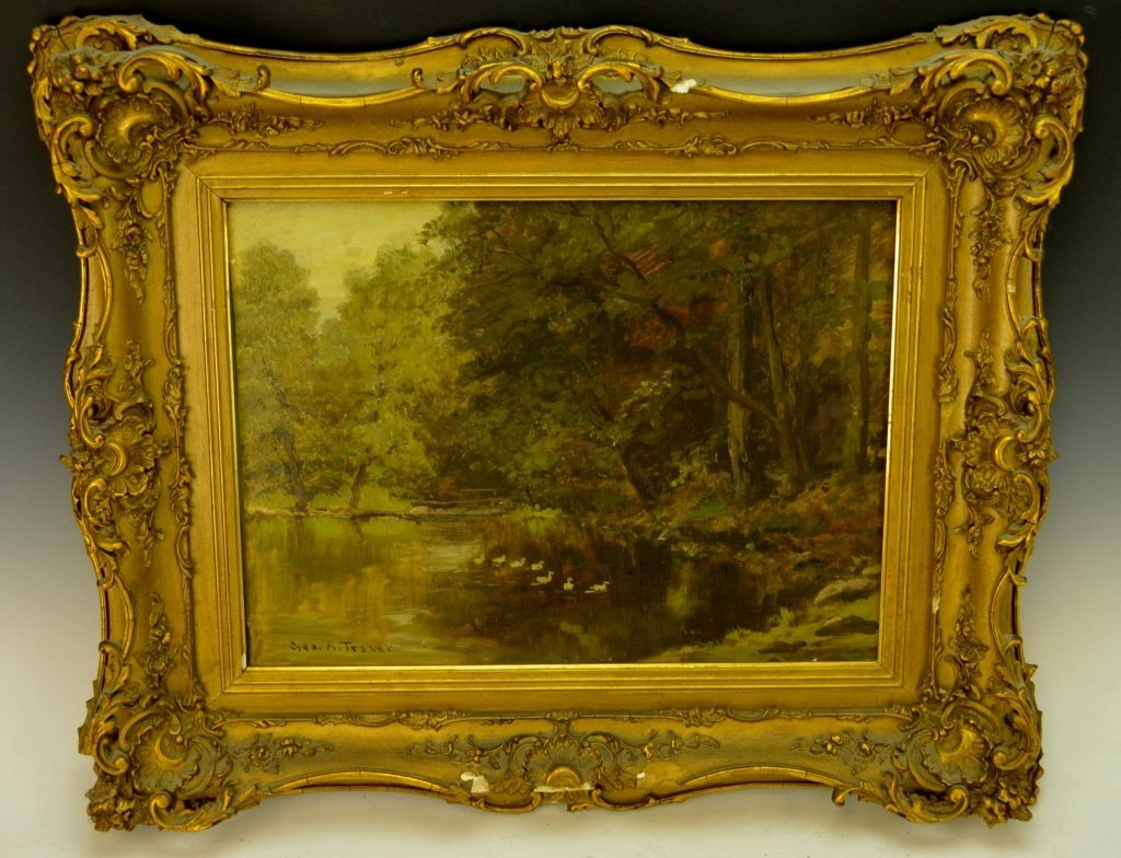 George A. Travers Oil on Board