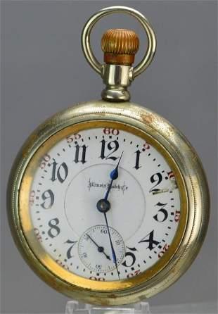 Illinois Watch Co. Pocket Watch