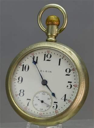 Elgin Silverode Pocket Watch