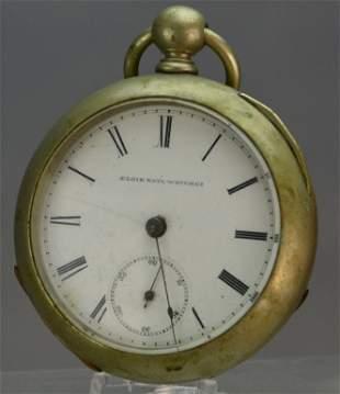 Elgin Key Wind Pocket Watch