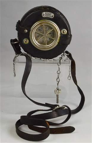 Detex Newman Night Watchman's Clock