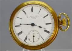 U.S. Watch Co. Waltham Pocket Watch