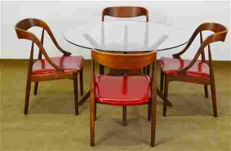 J. Anderson A. Pearsall Dining Room Set