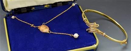 10k YG Jewelry Grouping