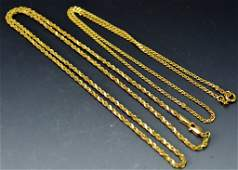 14k yg Necklace Grouping
