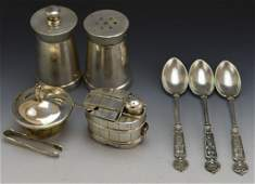 Sterling Silver Entertainment Grouping