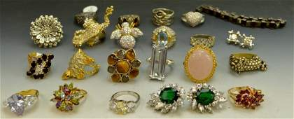 Sterling Silver Fashion Jewelry Grouping