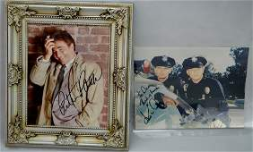 Television Autograph Grouping