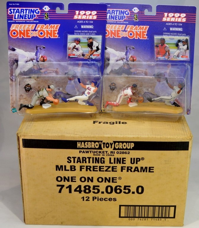 (12) MLB Starting Lineup Freeze Frame Figures