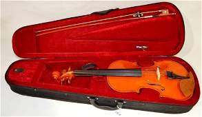 Unsigned Violin with Hardcase