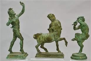 Greek Bronze Centaur Lot