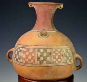 Peruvian Pottery Vessel