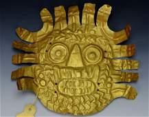 Nazca Gold Ornament : Sotheby's