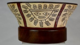 Nazca Polychrome Bowl