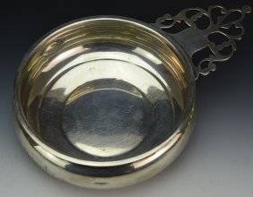 Dominick And Haff Sterling Silver Porringer
