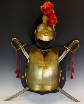 19th C. French Armor Display