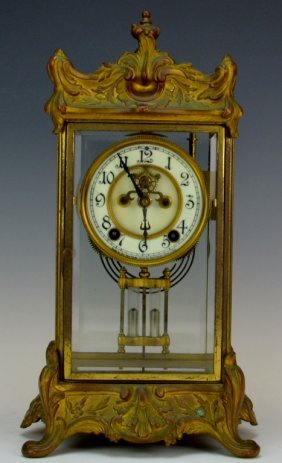 "New Haven Clock Co. Crystal Regulator, ""thoreau"""