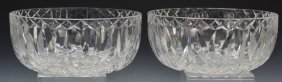 Waterford Crystal Bowl Grouping