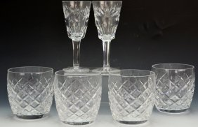 Waterford Crystal Stemware Grouping