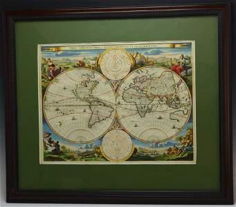 Daniel Stoopendaal World Map