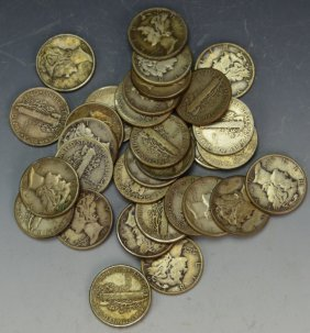 Mercury Dime Grouping