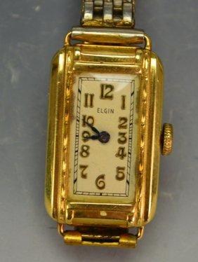 14k Elgins Ladies Wristwatch