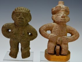 Two Costa Rican Stone Figures : Phillips