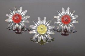 Swarovski Crystal Marguerite Flower Grouping