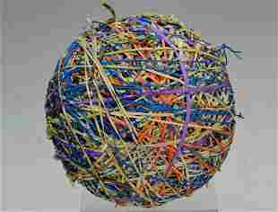 """Large 7"""" Rubber Band Ball"""